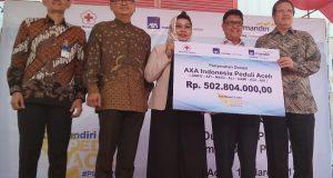 AXA dan PMI Komitmen Bantu Pemulihan Paska Gempa Pidie Jaya