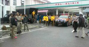 Polisi dan Satpol PP Disiagakan di RSU Muyang Kute
