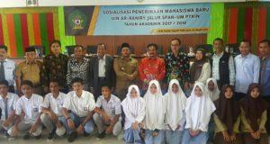 Di Pijay, Kakanwil Kemenag Aceh Dampingi Tim Sosialisasi Mahasiswa Baru UIN Ar-Raniry