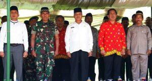 Hadiri BKMT Putaran Kedua, Rusli M Saleh Sebut Kunjungannya yang Terakhir Sebagai Bupati