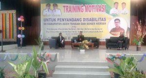 Sikdam Hasyim Gayo Dihujani Pertanyaan di Training Motivasi