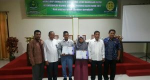 Kemenag Aceh Berdayakan Jurnalis Siswa Liput Event Nasional