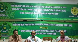 40 Siswa Madrasah Aceh Ikuti Pelatihan Jurnalistik