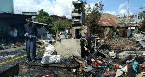 3 Unit Rumah di Kutelintang Gayo Lues Terbakar
