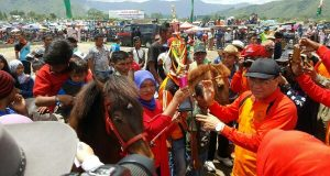 Berhadiah 309 Juta, Pacuan Kuda Peringatan Hari Jadi Ke-440 Kota Takengon Berakhir