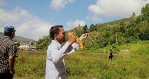 Anggota DPR Aceh Alaidin Abu Abbas Akan Bangun Lapangan Bola di Uning Penggantungen