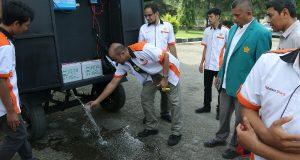 Unsyiah Ciptakan Mobile Pengolahan Air Bertenaga Surya