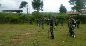 Prajurit Kodim 0113/Gayo Lues Latihan Menembak