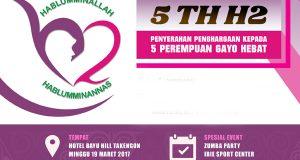 Ini Bocoran 5 Perempuan Hebat di Gayo yang Diberi Anugerah oleh H2 Besok