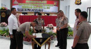 Calon Inspektur Polisi Teken Pakta Integritas