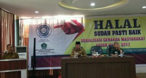 Gerakan Masyarakat Sadar Halal Disosialisasikan di Banda Aceh