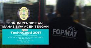 FOPMAT Kirim Delegasi ke Tech4Good 2017 Jakarta