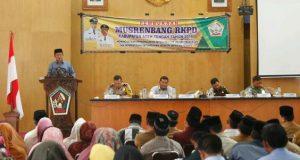 Aceh Tengah Gelar Musrenbang TA 2018
