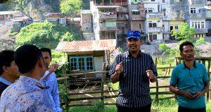 Alaidin Abu Abbas Bangun Lapangan Bola, Ini Kata Reje Uning Penggantungan