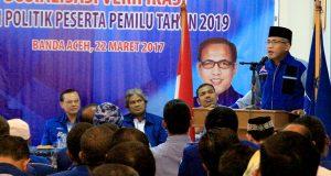Partai Demokrat Lakukan Sosialisasi Verifikasi Kepada Kader Se-Aceh