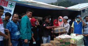 Mahasiswa Kehutanan Unsyiah PDD Gayo Lues Salurkan Bantuan ke Badak dan Agara