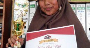 Siswi SMP IT Az-Zahra Raih Juara Satu Olimpiade Matematika FMIPA Unsyiah