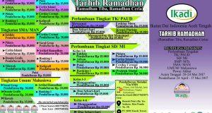 IKADI Aceh Tengah Akan Adakan Tarhib Ramadhan