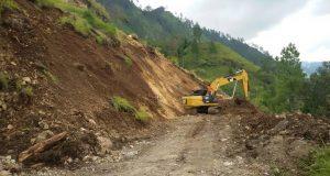 Bisa Dilintasi, BPBD Himbau Hati-Hati Melintas di Utung-Utung Lut Tawar