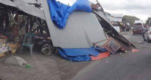 Diterjang Angin Puting Beliung, Rumah dan Kios Rusak di Bireuen
