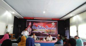 Dispora Aceh Tengah Gelar Audisi Gita Bahana Nusantara 2017