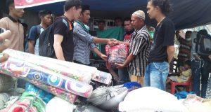 HMI Takengon Baksos dan Salurkan Bantuan Untuk Korban Banjir Bandang Agara