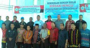 Sosialisasi Saber Pungli, Reje di Bener Meriah Diminta Perbaiki Laporan Dana Desa