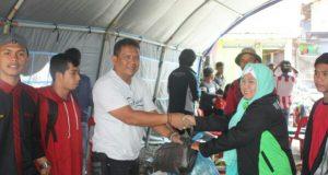 HIMAGA Salurkan Bantuan Bagi Korban Kebakaran Lot Kala