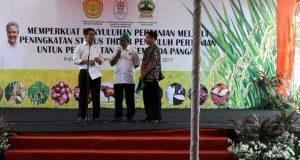 22 Penyuluh THL TBPP Aceh Tengah Lulus Sebagai CPNS