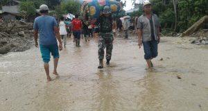 [Banjir Bandang Agara] Warga Dievakuasi, Lalu Lintas Normal