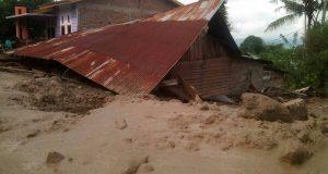Banjir Bandang Agara Sebabkan Ratusan Rumah Rusak Berat