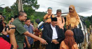 Kakanwil Kemenag Aceh Boyong Siswa MIS Kala Wih Ilang ke Kutaraja, Ngapain?