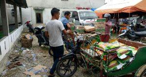 Rafly Kande Bergegas Salurkan Bantuan Bagi Korban Kebakaran Kota Fajar