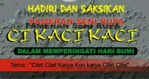 Cilet-cilet: Gerakan Sadar Lingkungan Perupa Aceh di HUT Kota Banda Aceh 2017