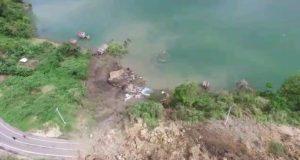 Butuh 1 Minggu Bersihkan Longsor Danau Lut Tawar