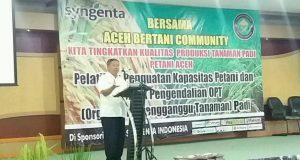 Hasanuddin Darjo : Potensi Pertanian Bireuen Sangat Bagus