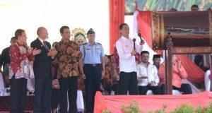 Jokowi Buka PENAS Petani dan Nelayan ke XV di Banda Aceh