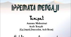 Prof. Dr. Alyasa Abu Bakar Akan Isi Ceramah IPPEMATA Mengaji Malam Ini