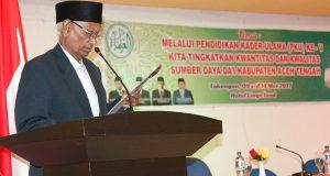 Aceh Tengah Urgen Pengkaderan Ulama