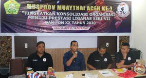 Pimpin Muaythai, Dahlan SIP : Siap Harumkan Aceh
