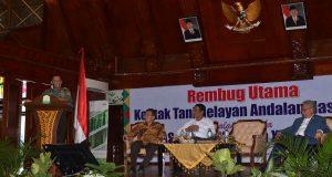 Saat Rembug KTNA, Panglima TNI Sampaikan Sektor Pertanian Sangat Penting