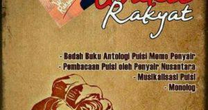 Buku Memo Penyair Untuk Wakil Rakyat Diluncurkan di Gedung MPR RI