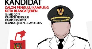 Panitia akan Gelar Penyampaian Visi dan Misi Calon Pengulu Kampung Kota Blangkejeren