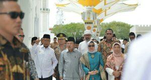 Kontraktor Diminta Beri Penjelasan Terkait Kerusakan Payung Elektrik Masjid Baiturrahman