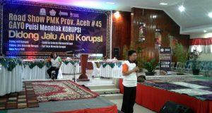 Diskusi PMK di Takengon, KPK : Jika Nangkap-Nangkap Saja Masalah Korupsi Tak Pernah Selesai