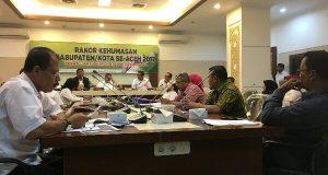 Peran Humas Pemerintah di Era Digital Dibahas Pada Rakor Kehumasan se-Aceh