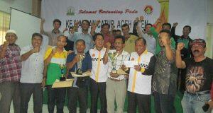 Ini Para Juara Kejuaraan Catur Aceh Open