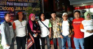 """Hanya 2 Anggota DPR Aceh Dapil IV yang Hadiri Acara """"Menolak Korupsi"""" di GOS Takengon"""