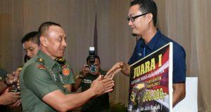 Liput TMMD, Wartawan iNews TV Aceh Raih Terbaik Nasional
