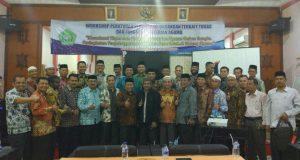 Jajaran Kemenag Aceh Diminta Update dan Pahami Peraturan Perundang-undangan terkait Tupoksi